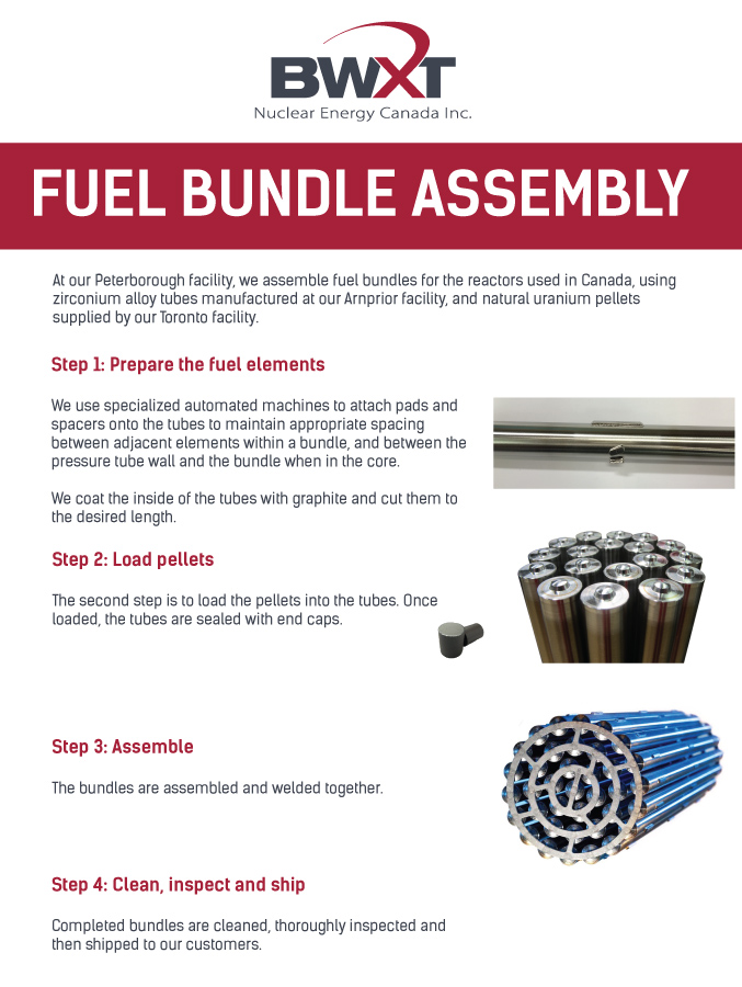 Fuel Bundle Assembly Poster
