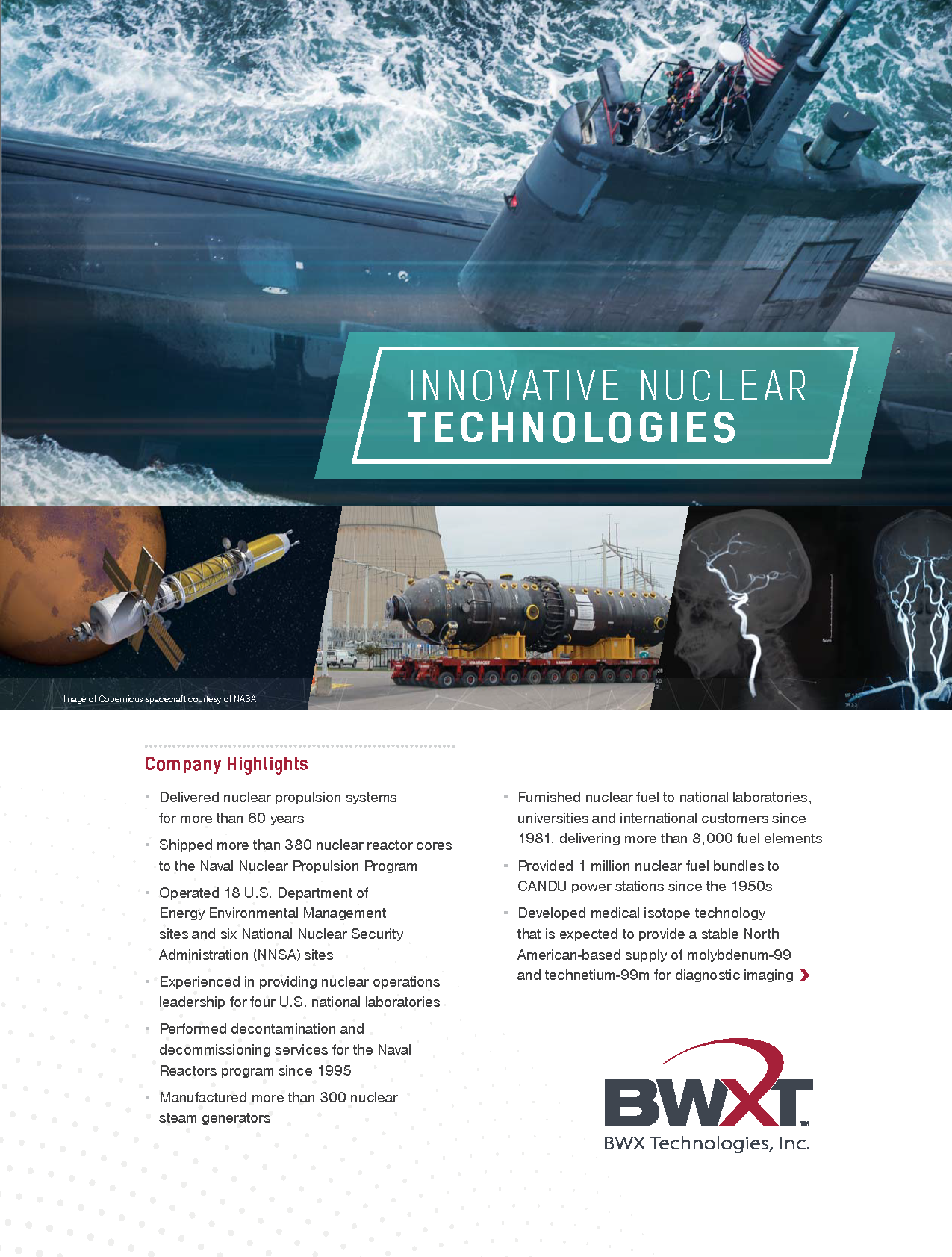 BWX Technologies, Inc. Overview