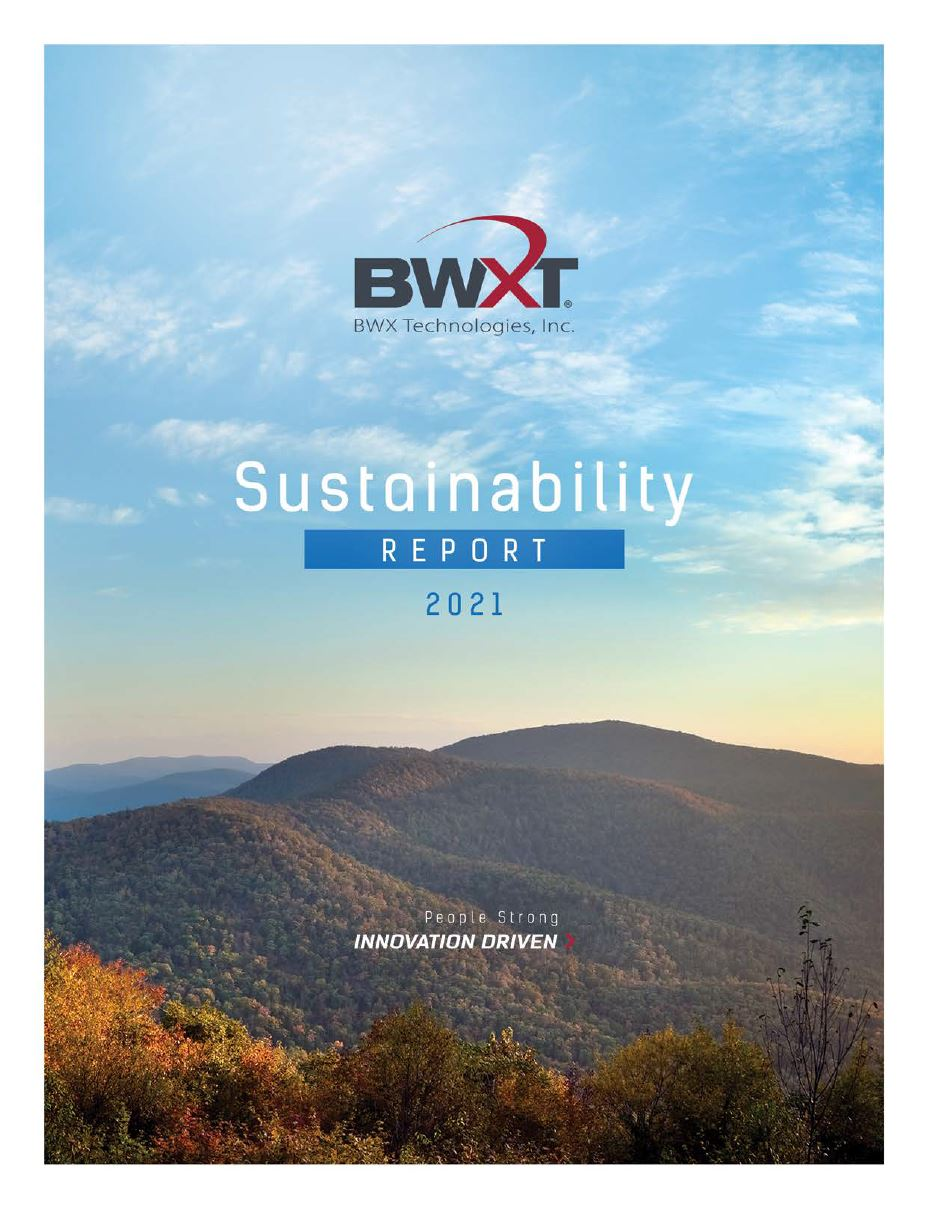 2021 Sustainability Report
