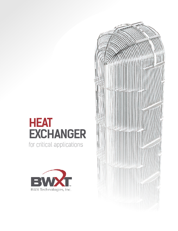 Heat Exchangers for Critical Applications